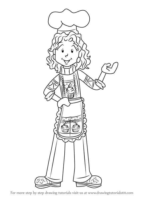 how to draw nikki maxwell from dork diaries