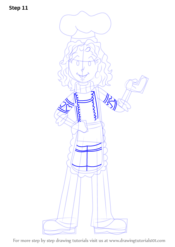 Learn How To Draw Mrs  Maxwell From Dork Diaries  Dork
