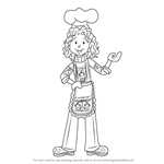 How to Draw Mrs. Maxwell from Dork Diaries