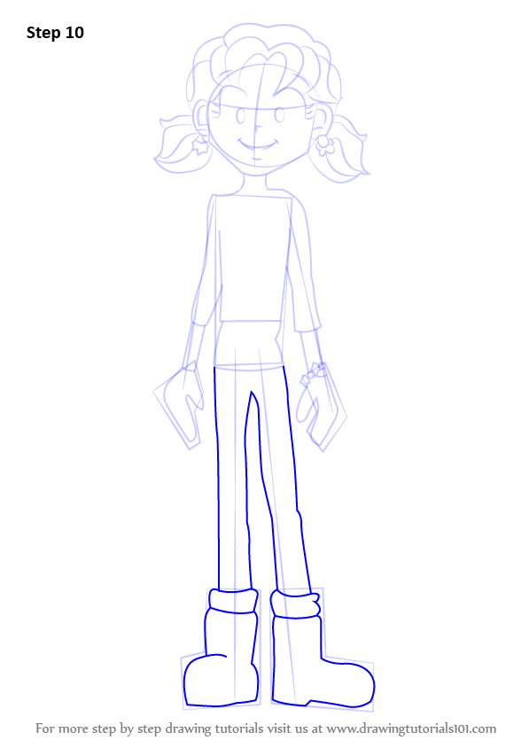 learn how to draw nikki maxwell from dork diaries  dork
