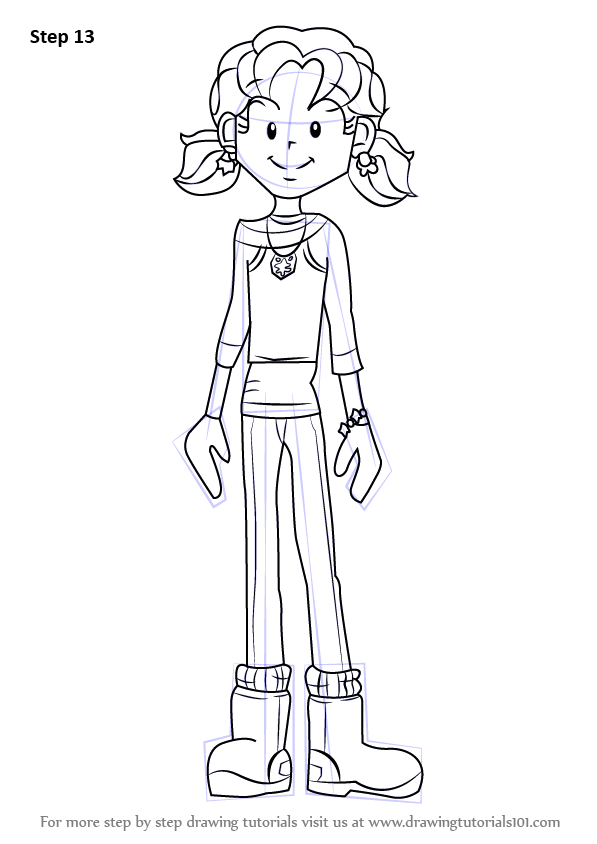 Learn How To Draw Nikki Maxwell From Dork Diaries Dork Diaries Step By Step Drawing Tutorials