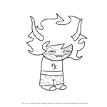 How to Draw Gamzee Makara from Homestuck