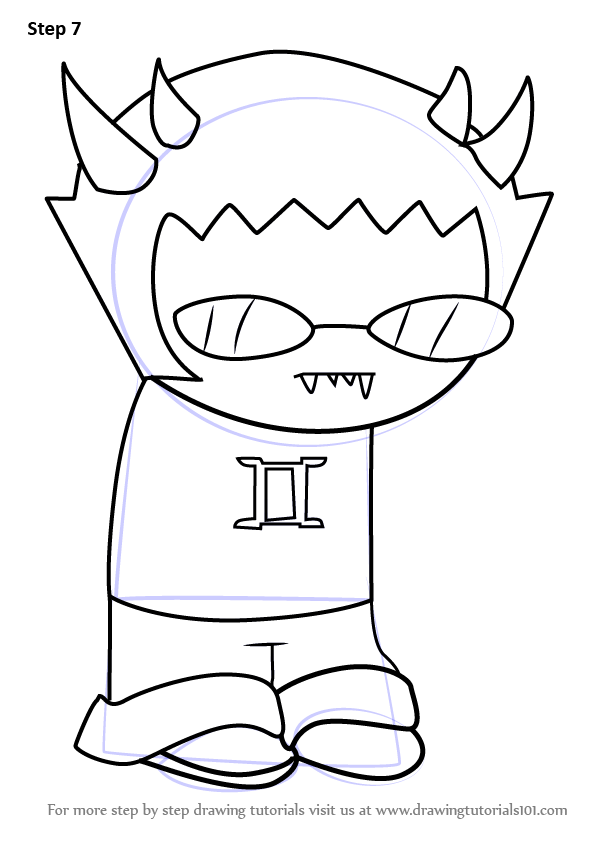 Learn How To Draw Sollux Captor From Homestuck Homestuck