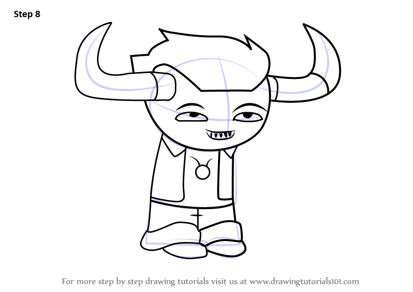 Learn How to Draw Tavros Nitram