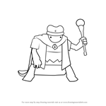 How to Draw Writ Keeper from Homestuck