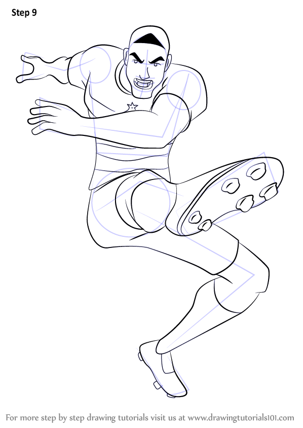 Learn How To Draw Aldo From Supa Strikas Supa Strikas