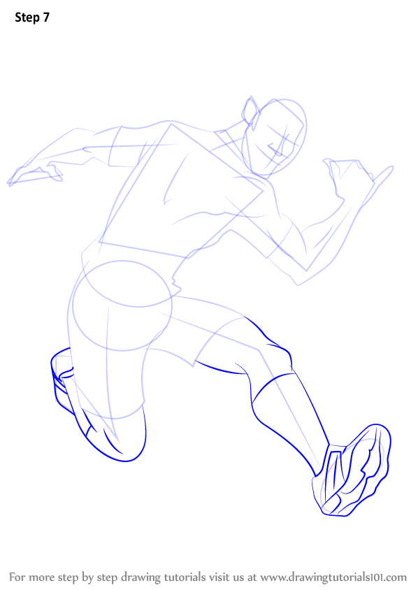 Step By Step How To Draw North Shaw From Supa Strikas