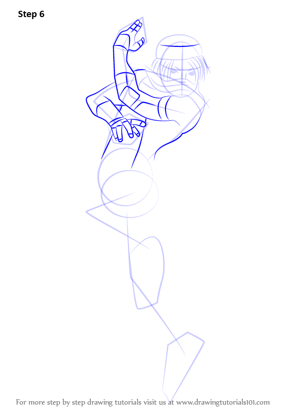 Learn How To Draw Sheik From Super Smash Bros Supa
