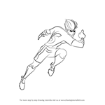 How to Draw Twisting Tiger from Supa Strikas