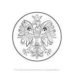 How to Draw Polish Eagle