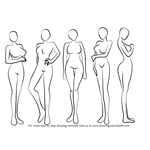 How to Draw Anime Body - Female