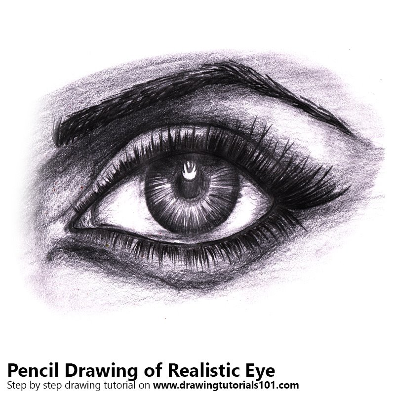 realistic eyes pencil drawing how to sketch realistic eyes using