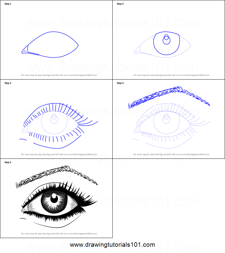 picture about Printable Eye known as How in direction of Attract Sensible Eyes With Pencil printable phase by way of