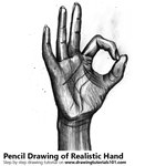 How to Draw Realistic Hand with Pencils