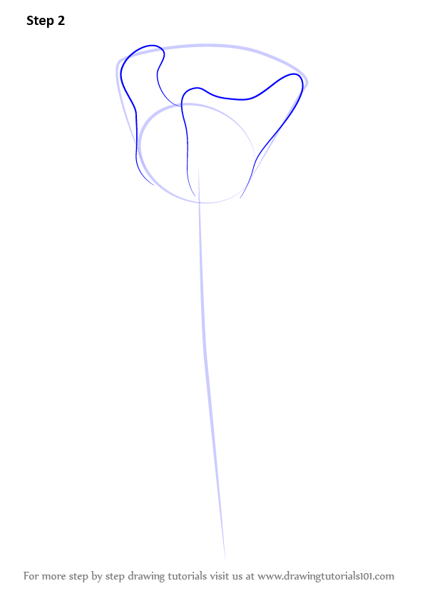 Learn how to draw a rose easy rose step by step for Easy rose drawing tutorial