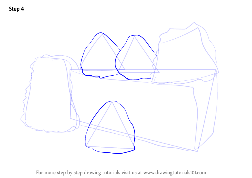Cake Drawing Easy Step By Step
