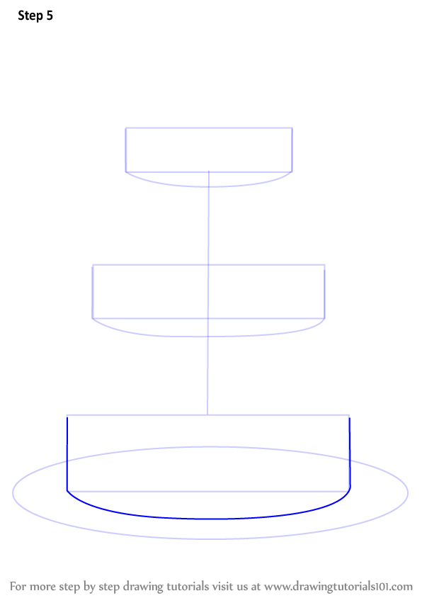how to draw a wedding cake step by step learn how to draw a wedding cake cakes step by step 15721