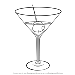 How to Draw a Martini