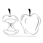 How to Draw an Apple