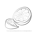 How to Draw Lemon Fruit