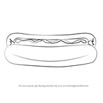 How to Draw Hotdog