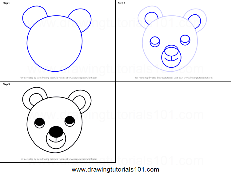 how to draw human faces step by step for kids