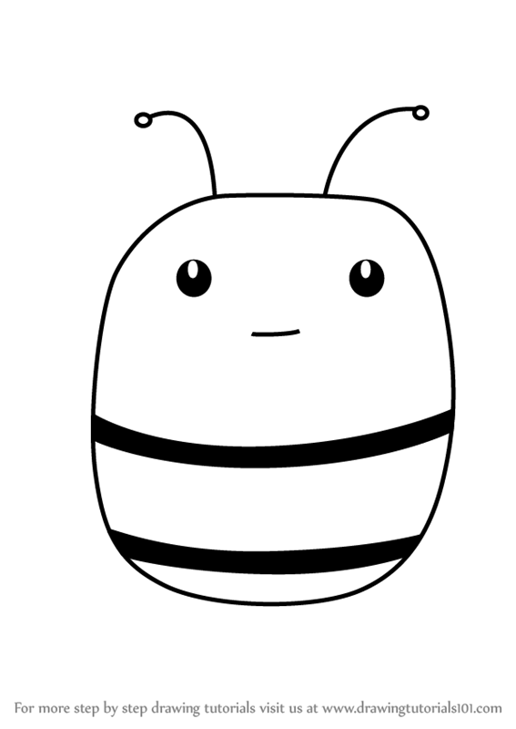 Learn How To Draw A Honey Bee Face For Kids Animal Faces For Kids
