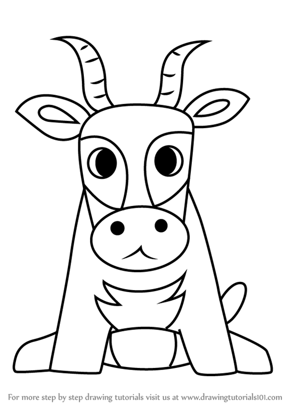 Learn How to Draw an Antelope for