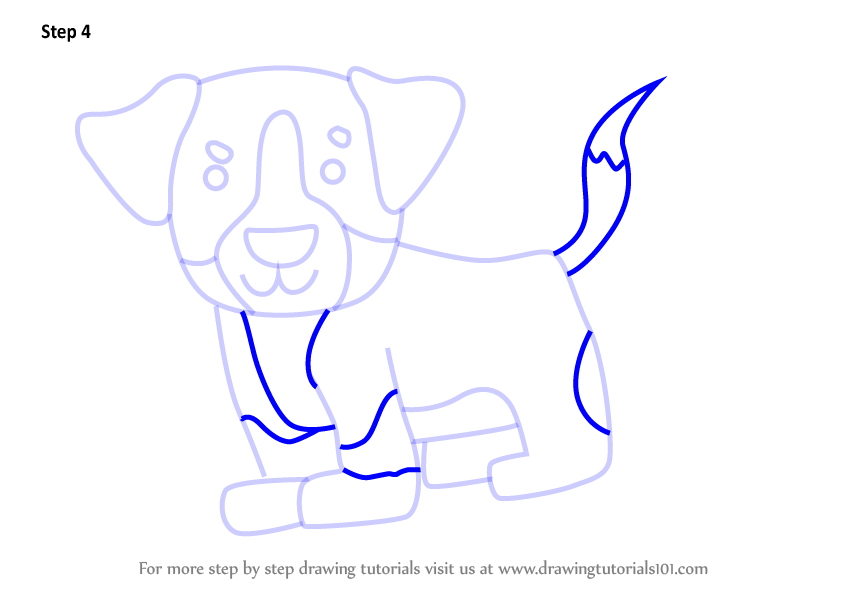 Learn How To Draw A Bernese Mountain Dog For Kids Animals For Kids