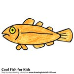 How to Draw a Cool Fish for Kids