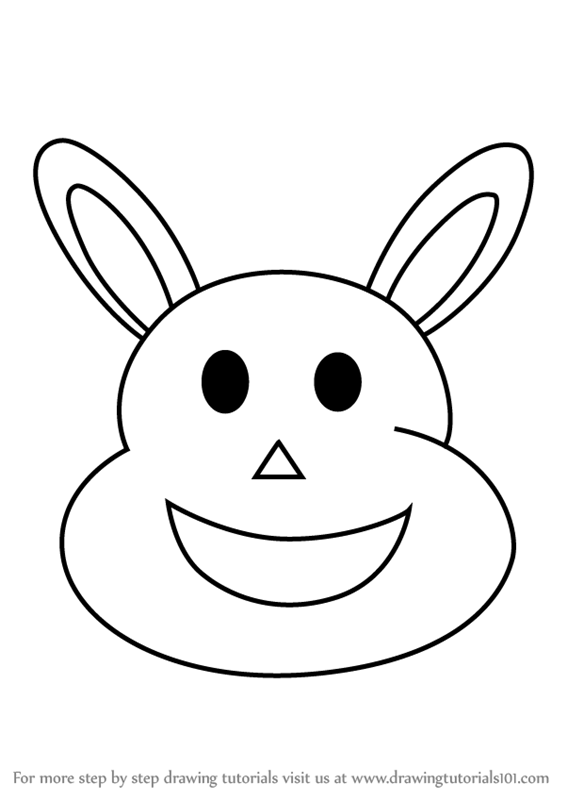 learn how to draw a cute bunny animals for kids step by step drawing tutorials