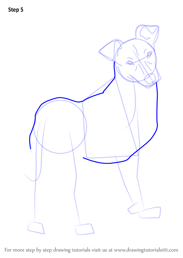 how to draw a cute puppy dog step by step