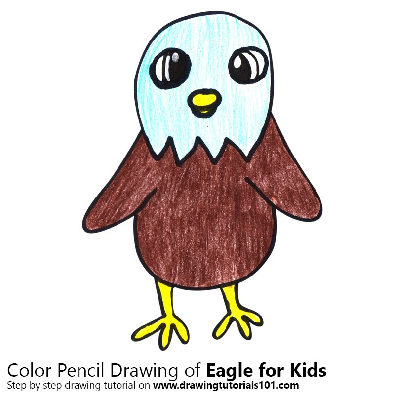 How To Draw An Eagle For Kids