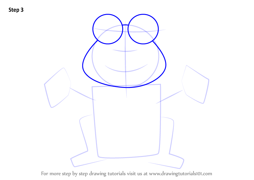 Learn How to Draw a Frog for Kids (Animals for Kids) Step ...