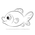 How to Draw Goldfish Easy