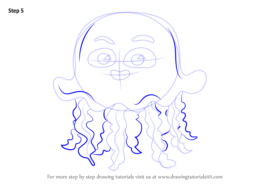 Learn How to Draw Jellyfish for Kids (Animals for Kids ...