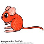 How to Draw a Kangaroo Rat for Kids