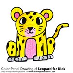 How to Draw a Leopard for Kids
