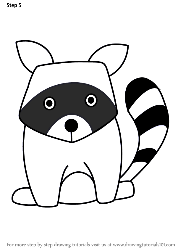 Featured image of post How To Draw Racoon