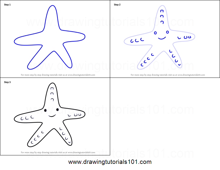 It's just a graphic of Printable Star Fish with coral reef