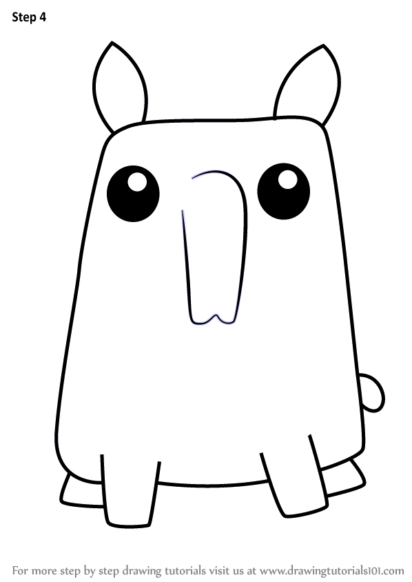 tapir coloring pages for kids - photo#30