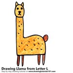 How to Draw a Llama from Letter L