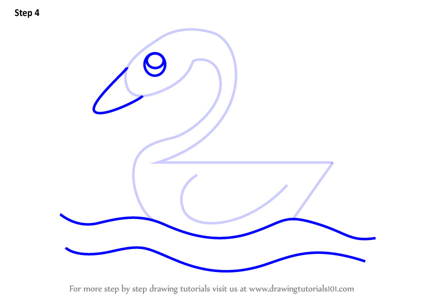 Learn How To Draw A Duck Using Number 2 Animals With Numbers Step