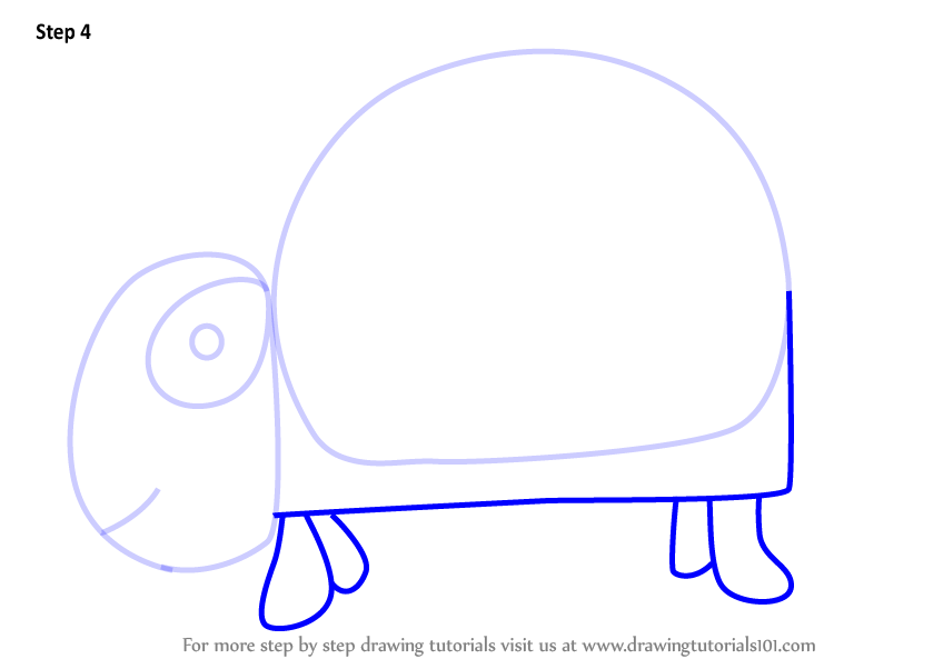 Learn How To Draw A Turtle Using Number 9 Animals With Numbers