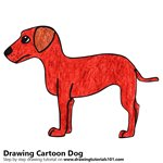 How to Draw a Cartoon Dog for Kids