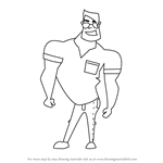 How to Draw a Funny Cartoon Man