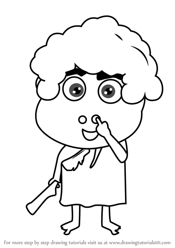 Learn How to Draw a Happy Kid (Cartoons for Kids) Step by ...