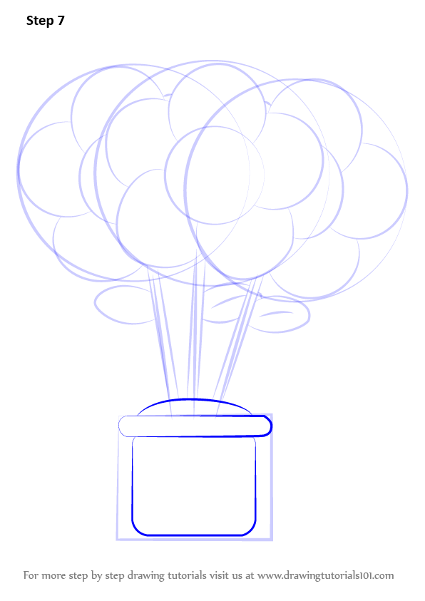 Learn How to Draw a Flower Pot (Flowers) Step by Step ...