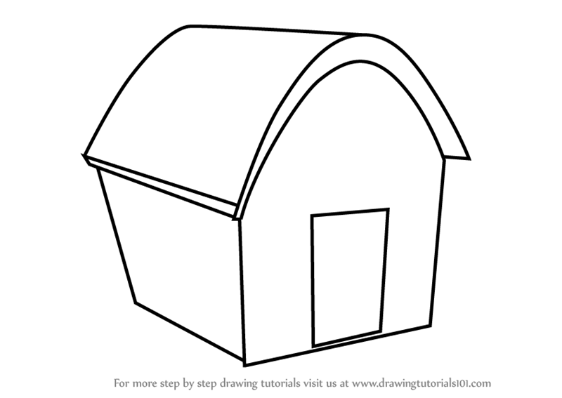 Learn how to draw house easy objects step by step drawing tutorials