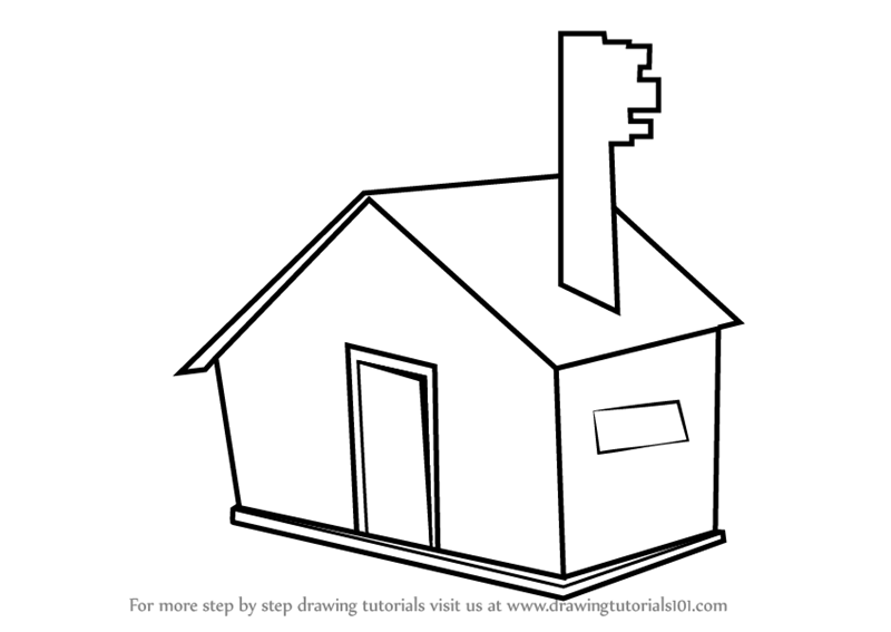 Learn how to draw a house for kids easy objects step by step drawing tutorials